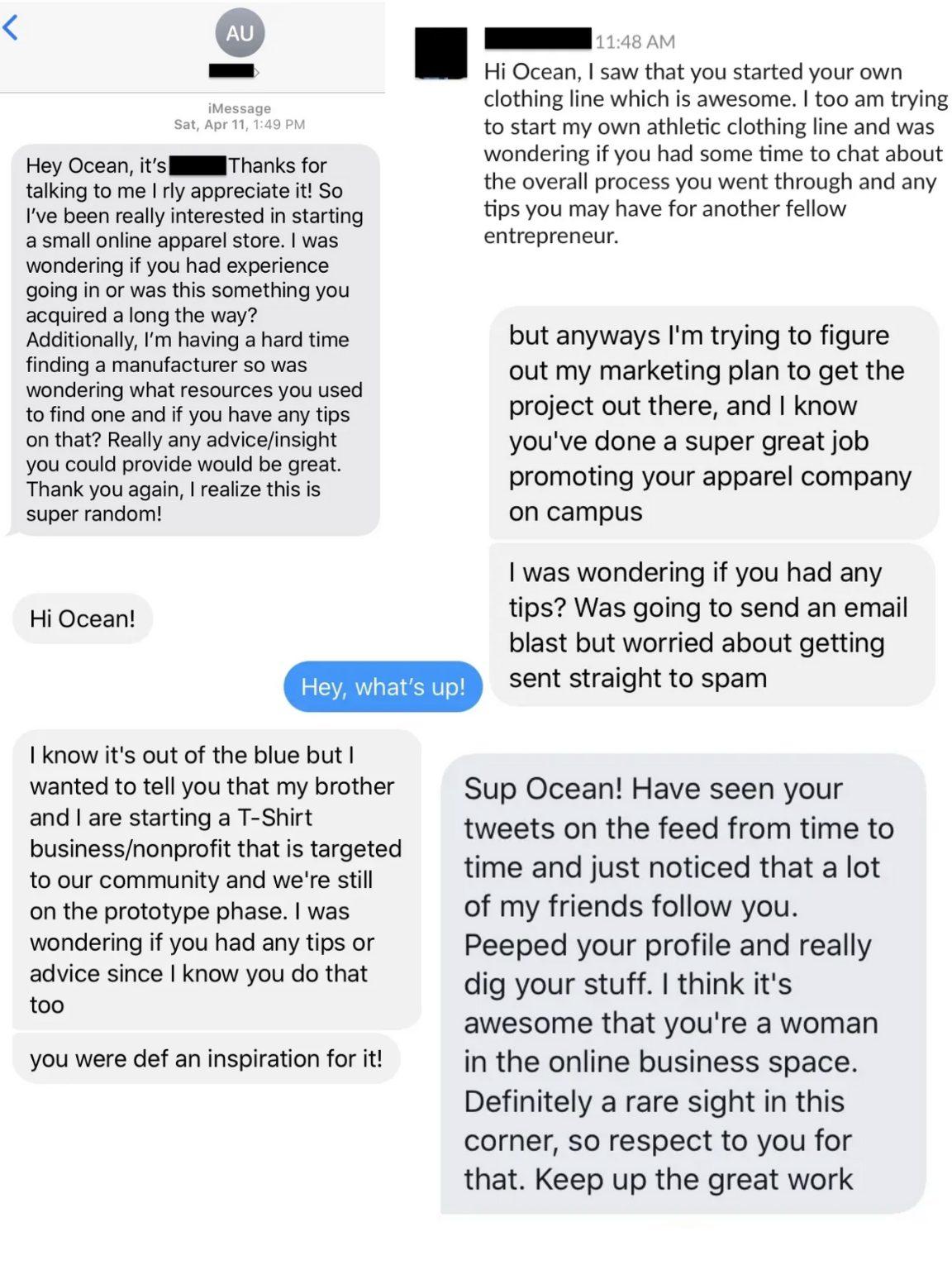 Ocean Morgan - Messages